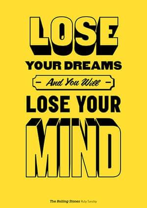 Music Philosophy: Poster of music lyrics