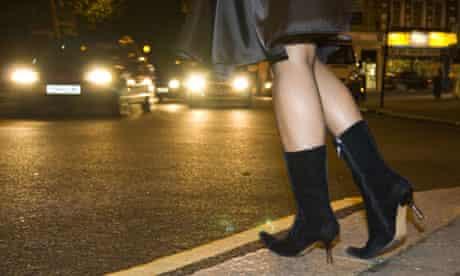 Woman posing as prostitute in London