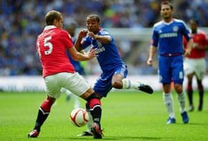 community shields: Chelsea v Manchester United - FA Community Shield