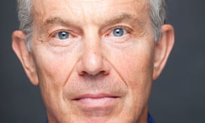 Tony Blair, photographed by David Levene