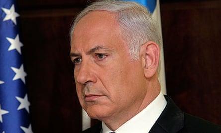 Binyamin Netanyahu in Washington
