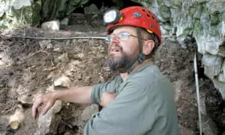 Archaeologist and anthropologist Timothy Taylor