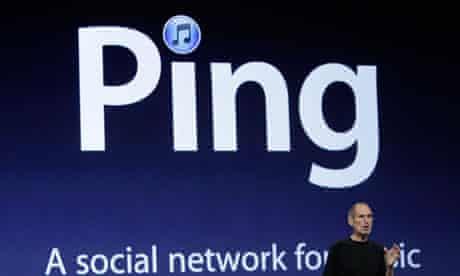 Steve Jobs talks about Ping