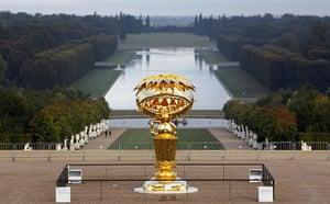 Murakami at Versailles: Takashi Murakami's Oval Buddha in the Versailles Palace gardens
