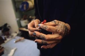 MDG: Russian IV Drug User