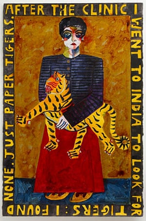 Josephine King: Paper Tigers, France, 2007, by Josephine King