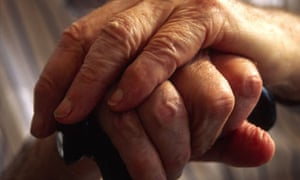 hands pensioner