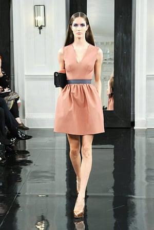 NY fashion week: Victoria Beckham's dresses