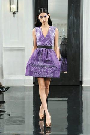 New York fashion week: Victoria Beckham spring collection 2011