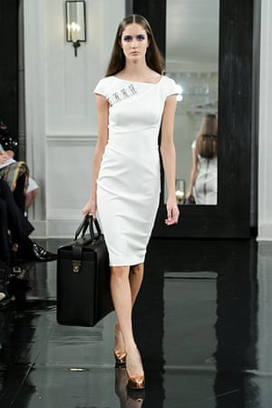 Victoria Beckham NY: Victoria Beckham's spring collection 2011