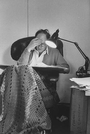 Roald Dahl Day: Roald Dahl at home