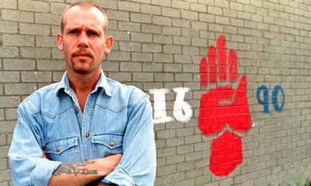 Loyalist Volunteer Force leader, Billy Wright in 1997