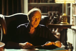 Roald Dahl Day: Roald Dahl at desk