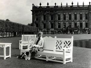 Duchess of Devonshire: Duchess of Devonshire in her garden