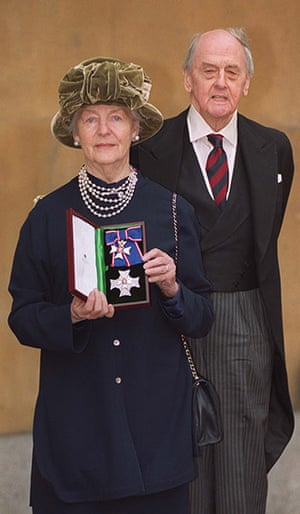 Duchess of Devonshire: The Duchess was honoured by Her Majesty the Queen by being made a Dame