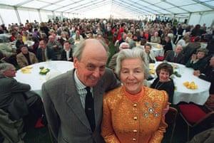 Duchess of Devonshire: Duke And Duchess of Devonshire Celebrating their Golden wedding