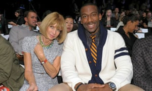 Tommy Hilfiger - Front Row  anna wintour Amare Stoudemire