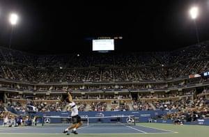 tennis1: Djokovic of Serbia