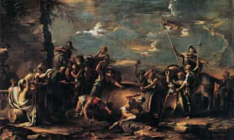 Salvator Rosa, show at Dulwich Picture Gallery 2010