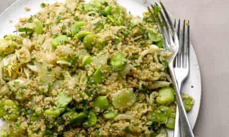 Quinoa and fennel salad
