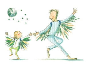 My Dad's A Birdman, by David Almond and illustrated by Polly Dunbar (Walker Books, 2007)