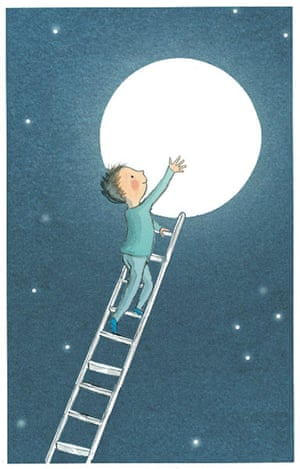 The Boy That Climbed into the Moon by David Almond, illustrated by Polly Dunbar (Walker Books, 2010_