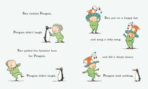Penguin by Polly Dunbar (Walker Books, 2008)