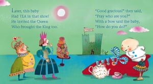 Shoe Baby, written by Joyce Dunbar and illustrated by Polly Dunbar (Walker Books, 2005)