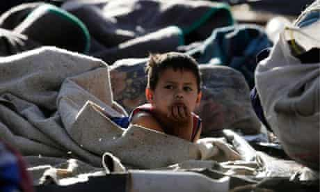 Unctad report: Homeless child in Asuncion