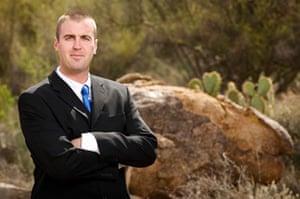 Tea Party politicians: Marine veteran Jesse Kelly