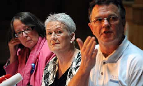 Margaret Kennedy, Sue Cox and Peter Saunders