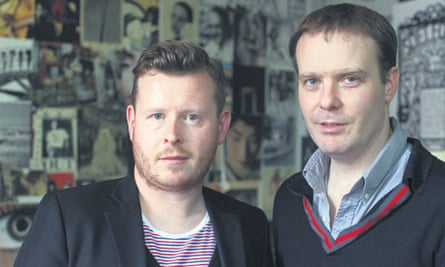 Lee Rourke and Tom McCarthy