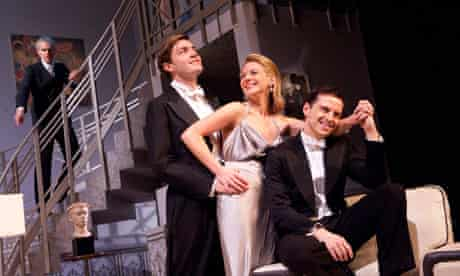 Angus Wright as Ernest, Tom Burke as Otto, Lisa Dillon as Gilda and Andrew Scott as Leo