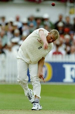 Cricket: Andrew Flintoff of England