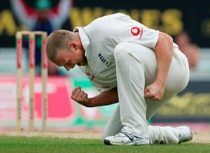 Cricket: Fifth Test: England v Australia
