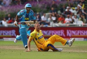 Cricket: Mumbai Indians v Chennai Super Kings - IPL T20
