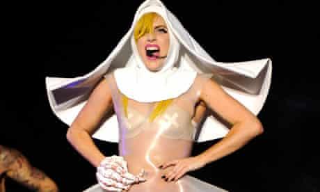 Lady Gaga at Lollapalooza