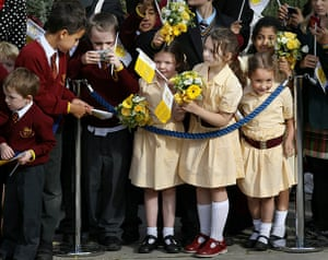 Pope Day 2: His Holiness Pope Benedict XVI Pays A State Visit To The UK - Day 2