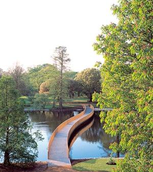 John Pawson Design: Sackler Crossing, Royal Botanic Gardens, Kew, May 2006 by John Pawson
