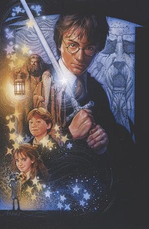 Struzan: Harry Potter 2 artwork