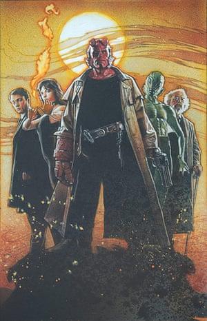 Struzan: Hellboy artwork