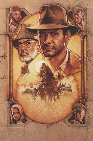 Struzan: Indiana Jones and the Last Crusade poster artwork