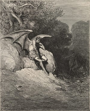 10 best: Devils: <Him, Fast Sleeping, Soon He Found> by Gustave Dore