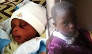 MDG : African Babies: Confidant Martins