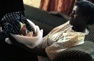 MDG : African Babies:  Baby Prosper Mumba