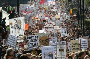 Pope Day 2: Anti-Pope protestors march to Downing Street