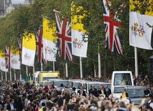 Pope UK visit: Day three: Pope Benedict XVI's UK visit: Day three
