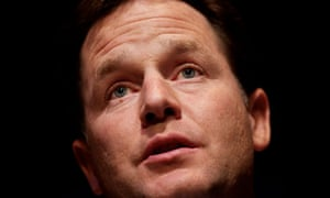Nick Clegg at Lib Dem conference in Liverpool