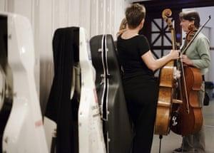 Edinburgh Festival: Backstage at the Edinburgh International Festival opening concert El Niño