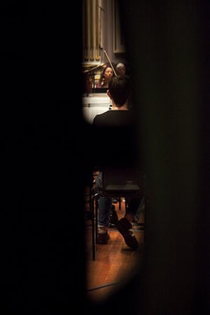 Edinburgh Festival: Idomeneo rehearsal at the Usher Hall, Edinburgh